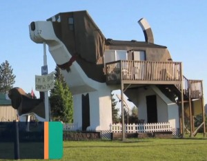 США, Dog Bark Park Inn
